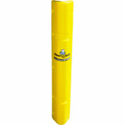 "Corner Sentry™ Corner Protector, Covers 4"" x 4"" of Corner, 42""H, Yellow - Pkg Qty 4"