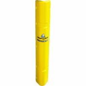 "Corner Sentry™ Corner Protector, Covers 4"" x 4"" of Corner, 42""H, Yellow - Pkg Qty 4"