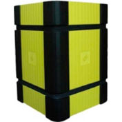 "Park Sentry® Column Protector - Corners, For 24"" x 24"" Square Columns, Black, 4/Carton"