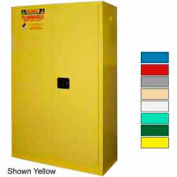 Securall® 45-Gallon, Manual Close, Flammable Cabinet White