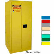 Securall® 60-Gallon, Manual Close, Flammable Cabinet Md Green