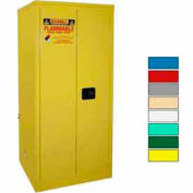 Securall® 60-Gallon, Manual Close, Flammable Cabinet Yellow