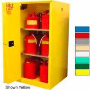 Securall® 60-Gallon Sliding Door, Flammable Cabinet Beige
