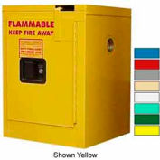 Securall® 4-Gallon, Self-Close Flammable Cabinet Md Green