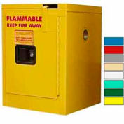 Securall® 4-Gallon, Self-Close Flammable Cabinet Yellow
