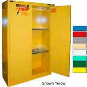 Securall® 45-Gallon, Self-Close Flammable Cabinet White