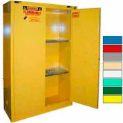 Securall® 45-Gallon, Self-Close Flammable Cabinet Yellow