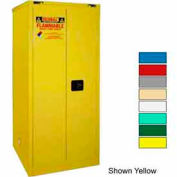 Securall® 60-Gallon, Self-Close Flammable Cabinet White