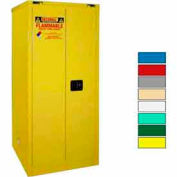 Securall® 60-Gallon, Self-Close Flammable Cabinet Yellow