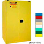 Securall® 90-Gallon, Self-Close Flammable Cabinet Blue