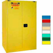 Securall® 90-Gallon, Self-Close Flammable Cabinet Yellow