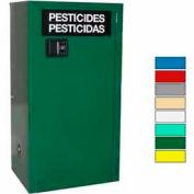 Securall® 12-Gallon Manual Close, Pesticide Cabinet Ag Green