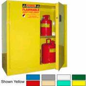 Securall® 30-Gallon Manual Close, Pesticide Cabinet White
