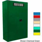 Securall® 45-Gallon Manual Close, Pesticide Cabinet Md Green