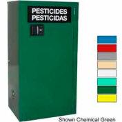 Securall® 12-Gallon Self-Close, Pesticide Cabinet Md Green