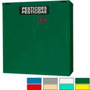 Securall® 30-Gallon Self-Close, Pesticide Cabinet Ag Green