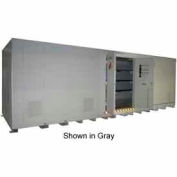 """Securall® 34'W x 8'D x 8' 4""""H Agri-Chemical Storage Building 64 Drum"""
