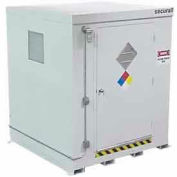 """Securall® 7'W x 7'D x 8' 4"""" Agri-Chemical Storage Building 9 Drum"""