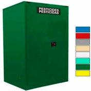 Securall® 120-Gallon Manual Close, Pesticide Cabinet Ag Green
