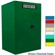 Securall® 120-Gallon Manual Close, Pesticide CabinetYellow