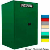 Securall® 120-Gallon Self-Close, Pesticide Cabinet Yellow