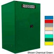 Securall® 60-Gallon Self-Close, Pesticide Cabinet White