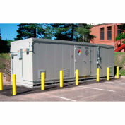 "Securall® 26'W x 8'D x 8' 4""H Hazmat Chemical Storage Building 48 Drum"