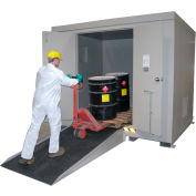 """Securall® Steel Ramp with Skid-Resistant Finish - BR65-N - 88""""L x 40""""W"""