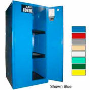 Securall® 60-Gallon Manual Close, Acid & Corrosive Cabinet Md Green