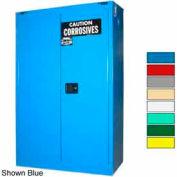 Securall® 45-Gallon, Self-Close, Acid & Corrosive Cabinet Ag Green