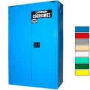 Securall® 45-Gallon, Self-Close, Acid & Corrosive Cabinet Blue
