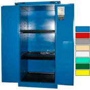 Securall® 60-Gallon, Self-Close, Acid & Corrosive Cabinet Blue