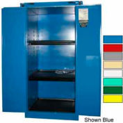 Securall® 60-Gallon, Self-Close, Acid & Corrosive Cabinet Md Green