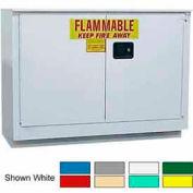 Securall® 36-Gallon Manual Close, Laboratory Cabinet Gray