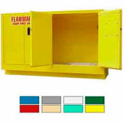 Securall® 44-Gallon Manual Close, Laboratory Cabinet Yellow
