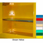 """Securall® Extra Shelf for Lab Cabinets 59"""" Wide Red"""