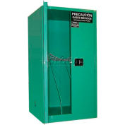 "Securall® 9, H Cylinder, Vertical Medical Fire Lined Gas Cabinet, 34""W x 34""D x 65""H"