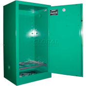 "Securall® 12, D & E Cylinder, Vertical Medical Gas Cabinet, 24""W x 18""D x 44""H"