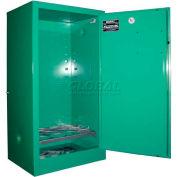 "Securall® 12, D & E Cylinder, Vertical Medical Gas Cabinet, 24""W x 18""D x 44""H"