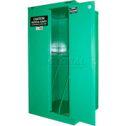 """Securall® 9, H Cylinder, Vertical Medical Gas Cabinet, 34""""W x 34""""D x 67""""H"""