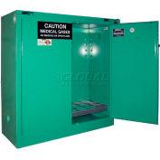 "Securall® 24, D & E Cylinder, Vertical Medical Gas Cabinet, 43""W x 18""D x 46""H"