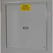 Explosion Relief Panel Upgrade for Outdoor Hazardous Storage Building - 80 Drum