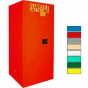 Securall® 120-Gallon Manual Close, Paint/Ink Cabinet Red
