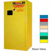 Securall® 20-Gallon Manual Close, Paint/Ink Cabinet Blue