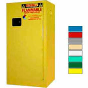 Securall® 20-Gallon Manual Close, Paint/Ink Cabinet Yellow