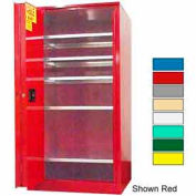 Securall® 120-Gallon, Sliding Door, Paint/Ink Cabinet Yellow