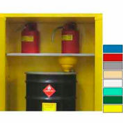 Securall® Extra Shelf for Full Size V1500 with Roller Bottom Gray