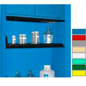 """Securall® Extra Shelf for Cabinets 24"""" Wide Blue"""