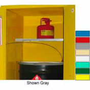 """Securall® Extra Shelf for Cabinets 34"""" Wide Red"""