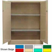Securall® 36x18x42 Self-Latch Industrial Cabinet Ag Green